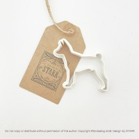 Basenji Outline - Cookie Cutter