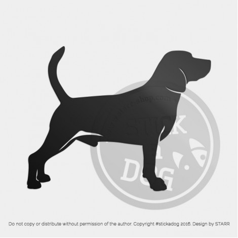 Beagle Silhouette 10