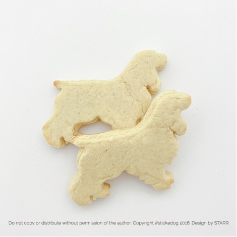 Cocker Spaniel Outline- Cookie Cutter
