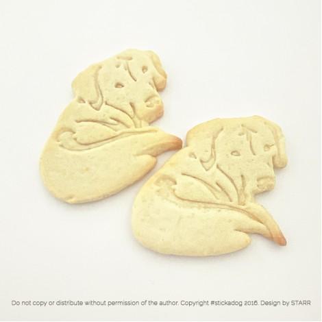Rhodesian Ridgeback Back - Cookie Cutter