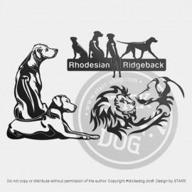 RHODESIAN RIDGEBACK: 3 For 2 Deal