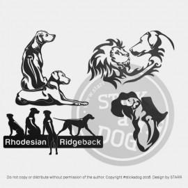 RHODESIAN RIDGEBACK: 4 For 3 Deal