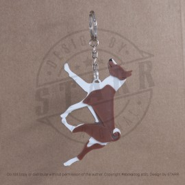 Key Chain (BREEDS) Basenji