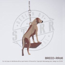 RIDGEBACK Key Chain (BREEDS) Stand