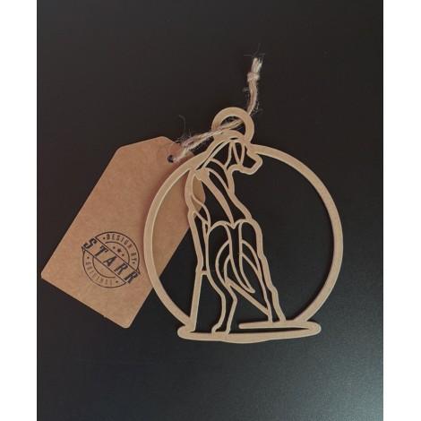 Rhodesian Ridgeback Round - Ornament