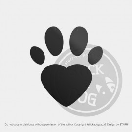 Dog Paw 03 (package)