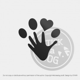 Dog Paw 08 (package)