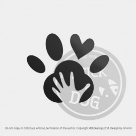 Dog Paw 09 (package)