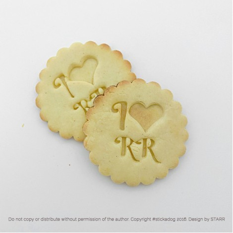 Rhodesian Ridgeback Love - Cookie Cutter