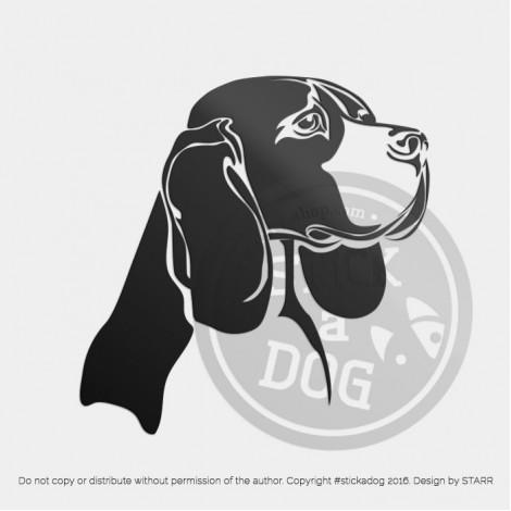 Beagle Proud Head