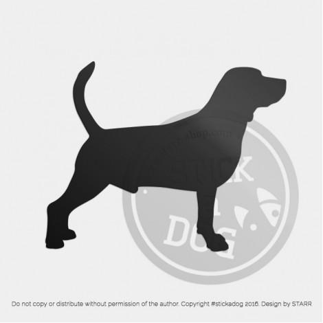 Beagle Silhouette 9