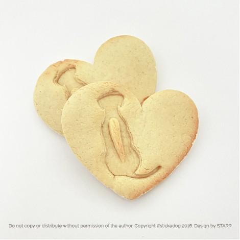 Rhodesian Ridgeback Heart - Cookie Cutter