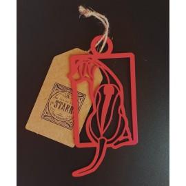 Rhodesian Ridgeback Square- Ornament
