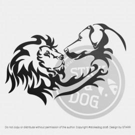 Rhodesian Ridgeback Lion